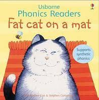 <b>Fat</b> cat on a mat, детская книга на английском от <b>Usborne</b>., цена ...