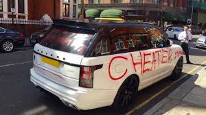 Image result for spray painted car