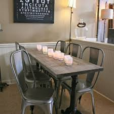 metal dining chairs tolix premium chair