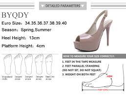 <b>BYQDY</b> 2019 Spring <b>Fashion Women</b> Pumps Summer Slingback ...