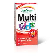 Jamieson Vitamin <b>Complete Multi Kids</b> Chewable 60 Cap - Young's ...
