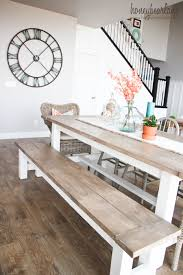 wood dining bench perfect set