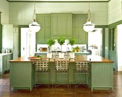 paint colors for kitchen cabinets  kitchen cabinets gorgeous ceiling lamps above wide green island and m