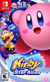<b>Игра для приставки Nintendo</b> Switch: Kirby Star Allies купить в ...
