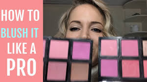 How to: Apply Blush - YouTube