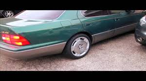 1996 Lexus Ls400 Vip 1996 Lexus Ls400 On Sc430 Wheels Youtube
