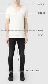 <b>Size</b> Guide For <b>Men</b>