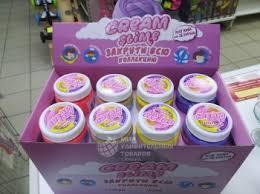 <b>Слайм Cream</b>-<b>Slime 250 гр</b>. SF02-SB - купить в интернет ...