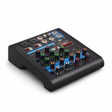 <b>Finlemho DJ Mixer Audio</b> USB Console WF4G 4 Way Professional ...