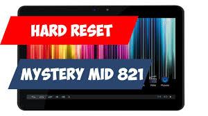 <b>Планшет mystery mid 821</b> не включается   висит на заставке ...
