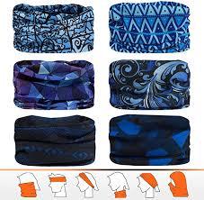 Joeyoung Bandanas <b>Multifunctional</b> Scarf Headwear Neck Gaiter ...