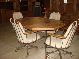 casual dining chairs with casters: dining table dining table sets rolling chairs