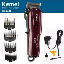 <b>KEMEI</b> KM-2600 <b>Professional Rechargeable Electric</b> Hair Clipper ...