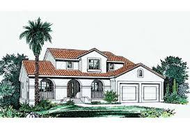 Eplans Spanish House Plan   Speaks of a Petite Spanish Villa    Front