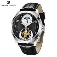 PAGANIDESIGN PD-1650 High-End Mechanical Watch Tourbillon ...