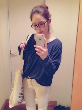 私服の筧美和子