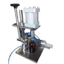 ROYAL PACK <b>Pneumatic Bottle</b> Crown <b>Capping Machine</b>, Capacity ...