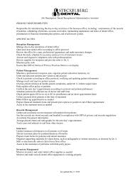 job description how to write a job description templates receptionist job description 01