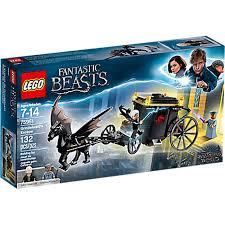 Купить <b>конструктор LEGO Harry</b> Potter Побег Грин-де-Вальда ...