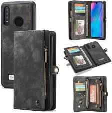 <b>Flip Cases</b> Electronics Huawei P30 Lite <b>Wallet Case</b>,Bpowe Zipper ...