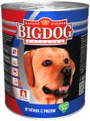 <b>Консервы Зоогурман Big Dog</b> для собак - купить в интернет ...