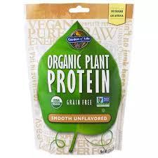 Garden of Life, <b>Organic Plant Protein</b>, <b>Grain</b> Free, Smooth ...