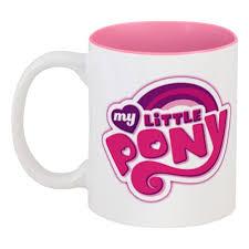 Кружка цветная внутри My Little Pony #1759259 в Москве – купить ...