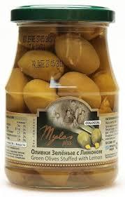 <b>Mylos plus</b> Colossal <b>Оливки зеленые</b> с лимоном, 0,37 л — купить ...