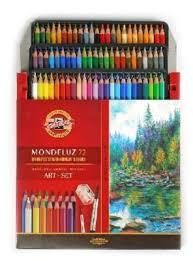 <b>Карандаши</b> акварельные <b>Koh</b>-I-<b>Noor Mondeluz</b> 72 цвета купить ...