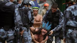 Image result for Brazil's indigenous protests