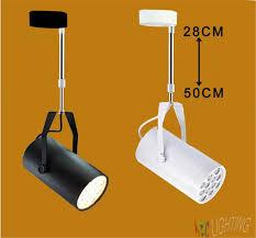 industrial 7w 12w 18w led ceiling mounted spot lighting lamp fixture no track rail lamparas de ceiling mounted spot lighting