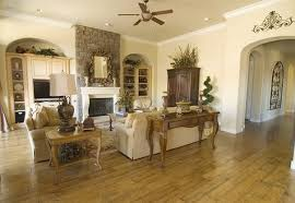 style living room built