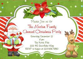 christmas party invitations com
