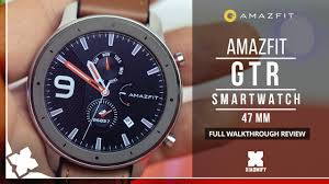 <b>AMAZFIT GTR</b> Smart Watch (<b>47mm</b>) - FULL REVIEW [XIAOMIFY ...