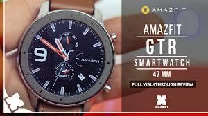 <b>AMAZFIT GTR Smart</b> Watch (<b>47mm</b>) - FULL REVIEW [XIAOMIFY ...