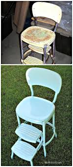 retro style metal chairs