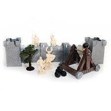 <b>Биплант игровой набор</b> солдатиков с катапультой и крепостью ...