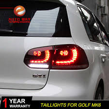 Online Shop <b>Car Styling tuning cars Tail lights</b> For VW Golf 6 Golf6 ...