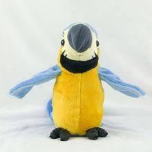 <b>26cm Electric Plush</b> Parrot, Macaw <b>Toy</b> Cute Doll Kids Gift ...