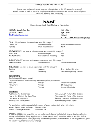 Curriculum Vitae Objectives On Resume Resume Format First Job