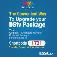 DStv - Whenever you want to <b>upgrade</b> your DStv <b>package</b>, you ...