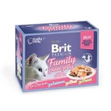 <b>Brit Premium</b> Family Plate <b>Jelly</b> набор <b>паучей</b> для взрослых кошек ...