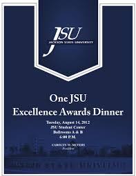 one jsu excellence awards by jackson state university issuu