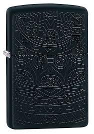 <b>Зажигалка</b> Black Matte Tone on Tone Design <b>ZIPPO</b> 29989 - купить ...