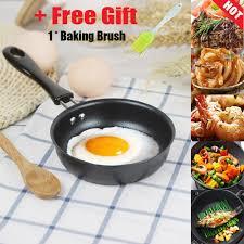 [Free Gift] <b>TTlife</b> 1 Pcs <b>12 Cm Frying</b> Pan Cast Iron Non-Stick ...