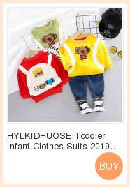 HYLKIDHUOSE 2019 Autumn <b>Toddler Infant Clothing</b> Sets <b>Baby</b> ...