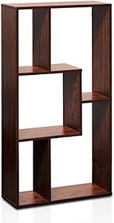 Furinno FNAJ-11073 Boyate Magic Cube <b>Five Grid Storage Rack</b> ...