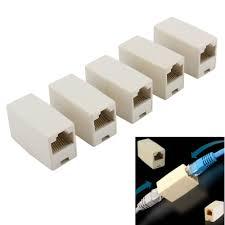 <b>5pcs</b>/<b>lot High</b> quality Newtwork Ethernet Lan Cable Joiner Coupler ...