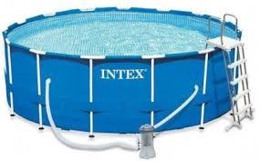 Каркасный бассейн <b>Metal Frame 457х122см</b>, <b>Intex</b> 28242, фильтр ...
