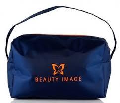 <b>Косметичка</b> с логотипом <b>Beauty Image</b> (синяя) - <b>Beauty Image</b> - 1 ...